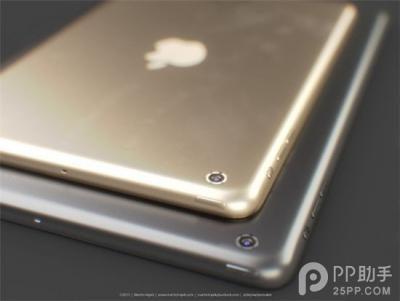 Retina iPad mini 2 Could be Available in Gold with Touch ID Fingerprint Scanner