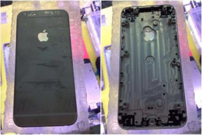 Supposed iPhone 6 Rear Housing Leaked Including New Dark Color