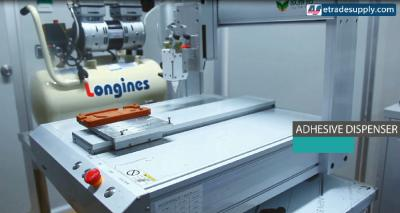 How to Set Up ETrade Supply's Adhesive Dispenser Robot