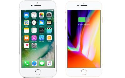What's the difference between iPhone 8 and iPhone 7 LCD screen?