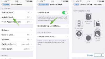 99.9% People Don't Know the Rare Function on iPhone 6S' AssistiveTouch