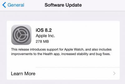 Eager to Upgrade to iOS 8.2? Wait!