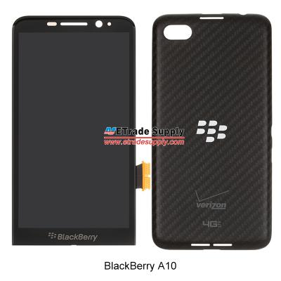 Blackberry A10 LCD Screen and Digitizer Assembly and Battery Door Leaked