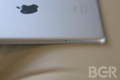 Apple's iPad 5 Rear Mic Design Leaked