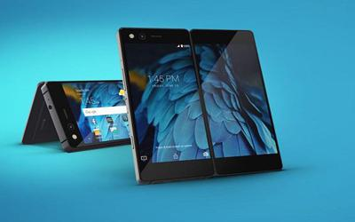 How far does the foldable phone away from us?