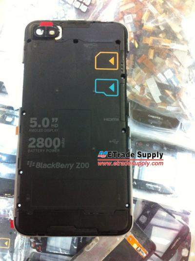 Leaked BlackBerry A10 Middle Plate – Could Possibly be Called BlackBerry Z30