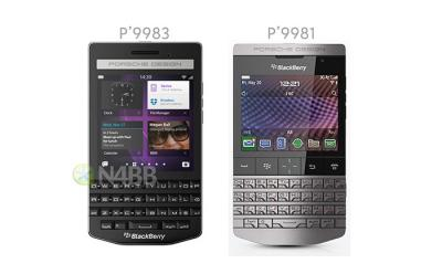 BlackBerry Porsche Design P'9983 Leaked