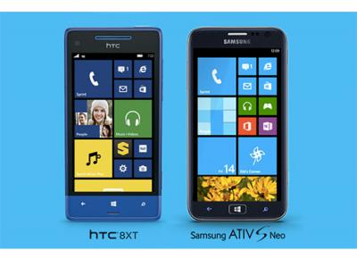 Sprint Announced HTC 8XT and Samsung ATIV S Neo as Its First Windows Phone 8 Devices