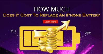 How Much Does It Cost To Replace An iPhone Battery