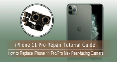How to Replace the iPhone 11 Pro/Pro Max Rear-facing Camera?