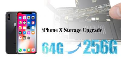 How to Upgrade the iPhone X Memory From 64G to 256G