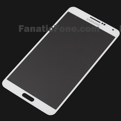 Leaks Again: White Samsung Galaxy Note III Glass Lens
