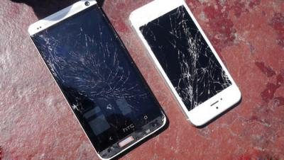 How to Fix the Cracked Screen on HTC One
