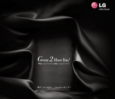 LG Sent Out Invitation for LG G2