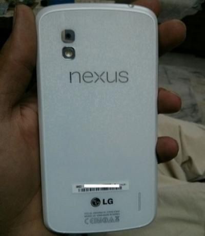 White Nexus 4 Appears in the Indian Market Before Officially Released