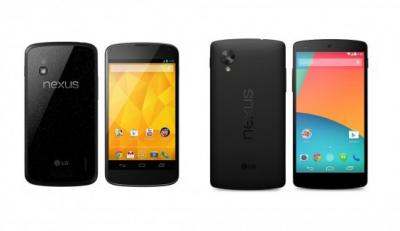 Nexus 5 vs. Nexus 4: What's the Difference?