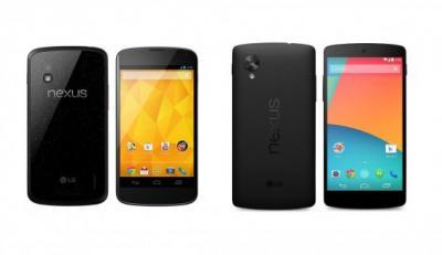 Nexus 5 vs. Nexus 4: What's the Difference?