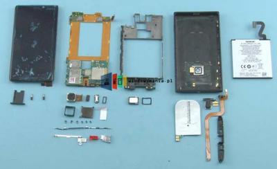 Nokia Lumia 920 Disassembly