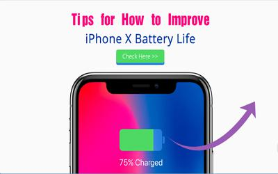 Tips for how to improve iPhone X battery life
