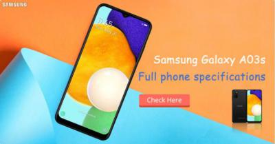 Samsung Galaxy A03s - Full phone specifications
