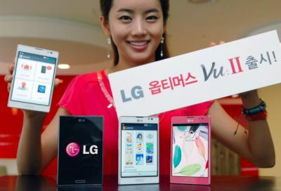 LG Optimus Vu II Released