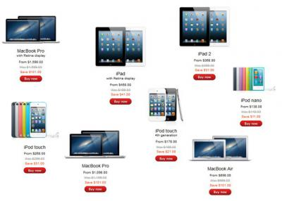Black Friday Deals for Apple Product: $101 for Laptop, Up to $61 for iPad, iPhone Excluded