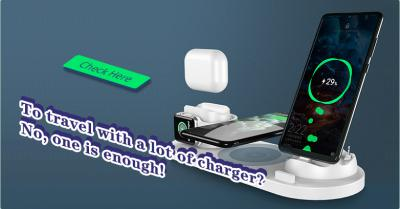 To travel with a lot of charger? No, one is enough!