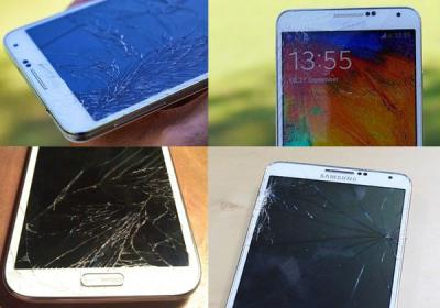 Problems of Fixing the Samsung Galaxy Note 3 Screen
