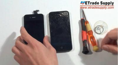 How to Repair the Damaged iPhone 4 Screen