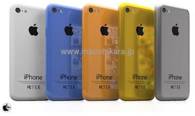 Nex-gen iPhone and Lower-Range iPhone Rumored to be Multicolored