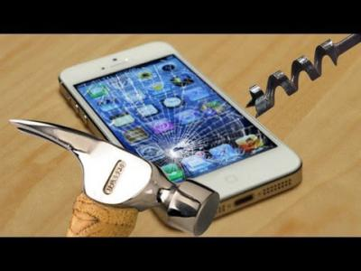 Top 5 Destruction Tests on iPhone 5