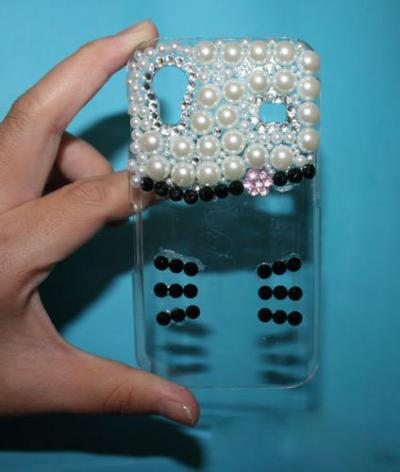 How to Make A DIY Hellokitty-style Case for Samsung Galaxy S Models