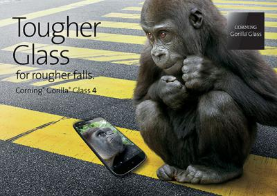 Gorilla Glass 4 works better to keep from shattering