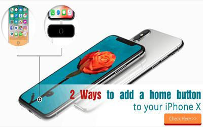 2 Ways to add a home button to your iPhone X