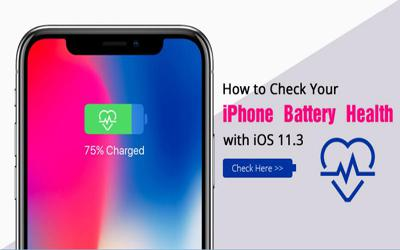 How to Check Your iPhone Battery Health with iOS 11.3