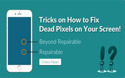 Tips on How to Fix Dead Pixels on Your Screen