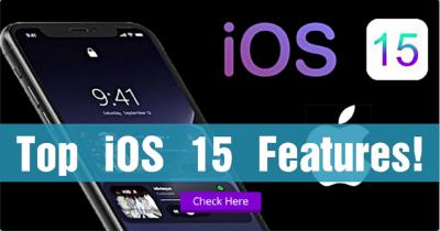 Top iOS 15 Features! What's New Review