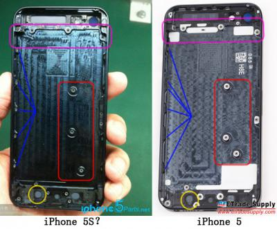 iPhone 5S Rear Housing Leaked