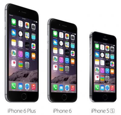 What are the Differences Between iPhone 6 Plus, iPhone 6 and iPhone 5S