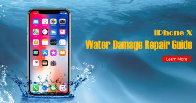 iPhone X Water Damage Repair Guide (Still Work in 2019)
