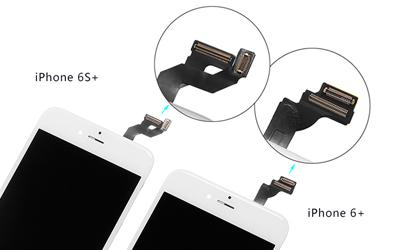 iPhone 6+ and iPhone 6S+ Screen Comparison Report
