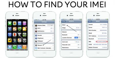 How to Know Your iPhone IMEI and Carrier