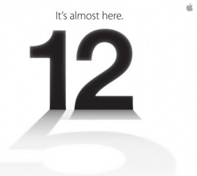 Prepare for iPhone 5 – Apple Invites Media for the Event on September 12th