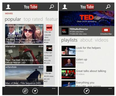 Microsoft Updates Youtube Apps, But Not Addressing all Google's Concerns