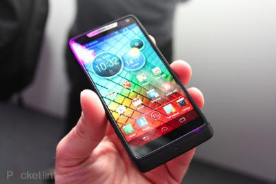 Motorola Razr i: First Moto Phone with Intel Processor