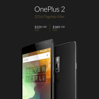 OnePlus 2 Announced: Features and Specs