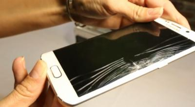 The Cost of Repairing a Cracked Galaxy S6, S6 Edge Screen