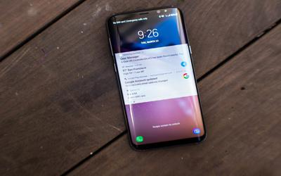 How to close Samsung smartphone 25% battery pop-up notification