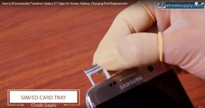 How to Repair Samsung Galaxy S7 Edge Cracked Screen