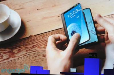 Samsung Confirmed to Debut Folding Display Device in 2015